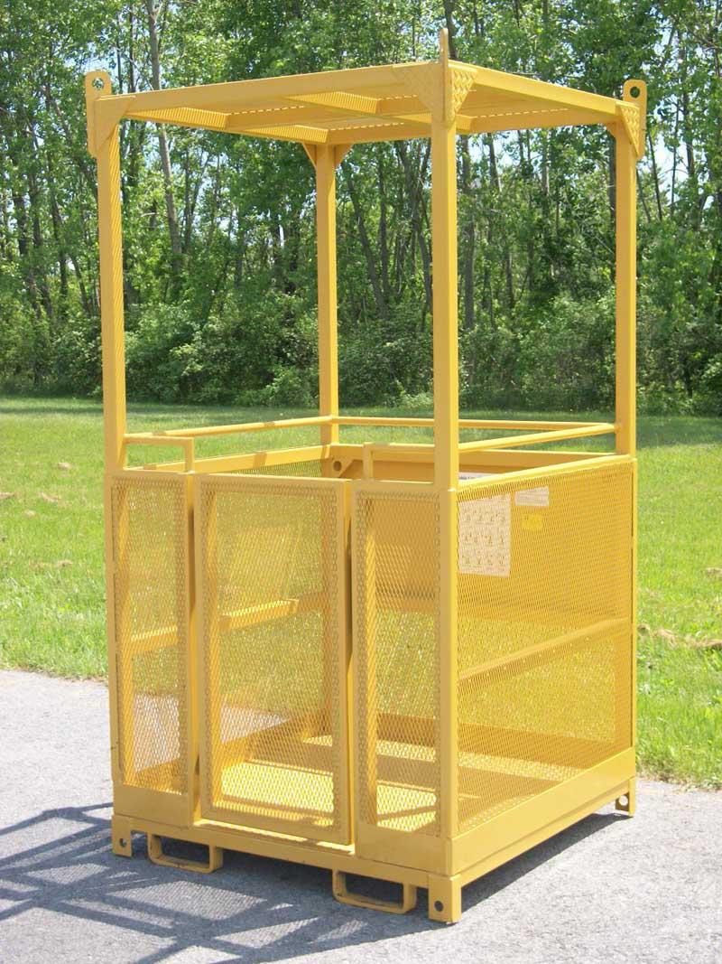 crane baskets, construction baskets, man baskets, crane cages, construction basket, crane basket, crane cage, suspended personnel platform