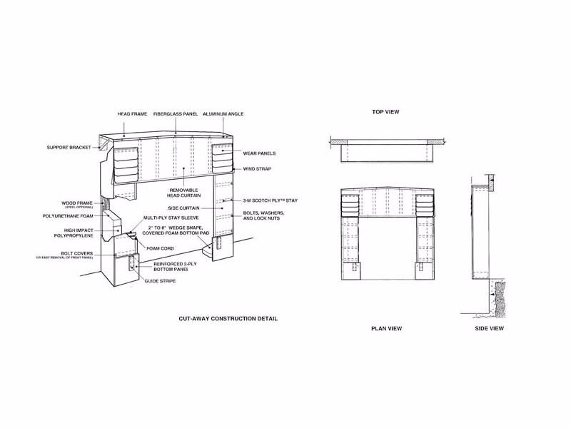 Loading Dock Door Seals 220 Series Soft Sided Truck Shelter