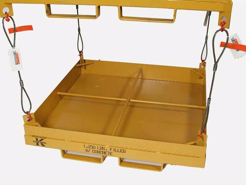 Crane Basket Test Weight Box