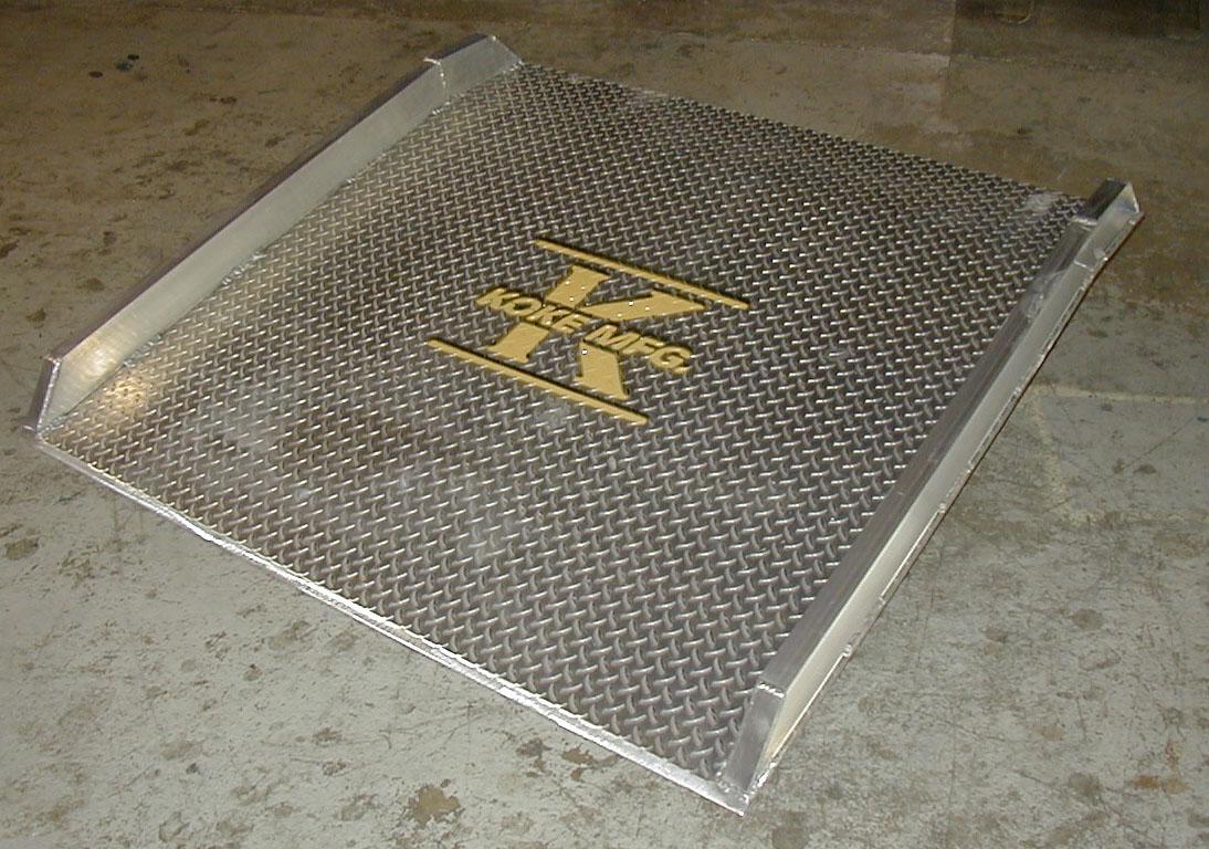 All Aluminum Dockboard