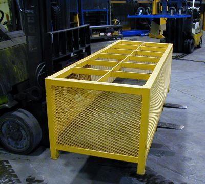 Vertical Gas Cylinder storage cage
