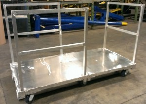 Aluminum Order Picker with Rails