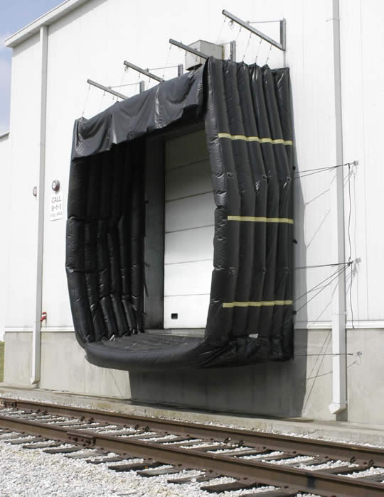 450/460 Inflatable Rail Shelter