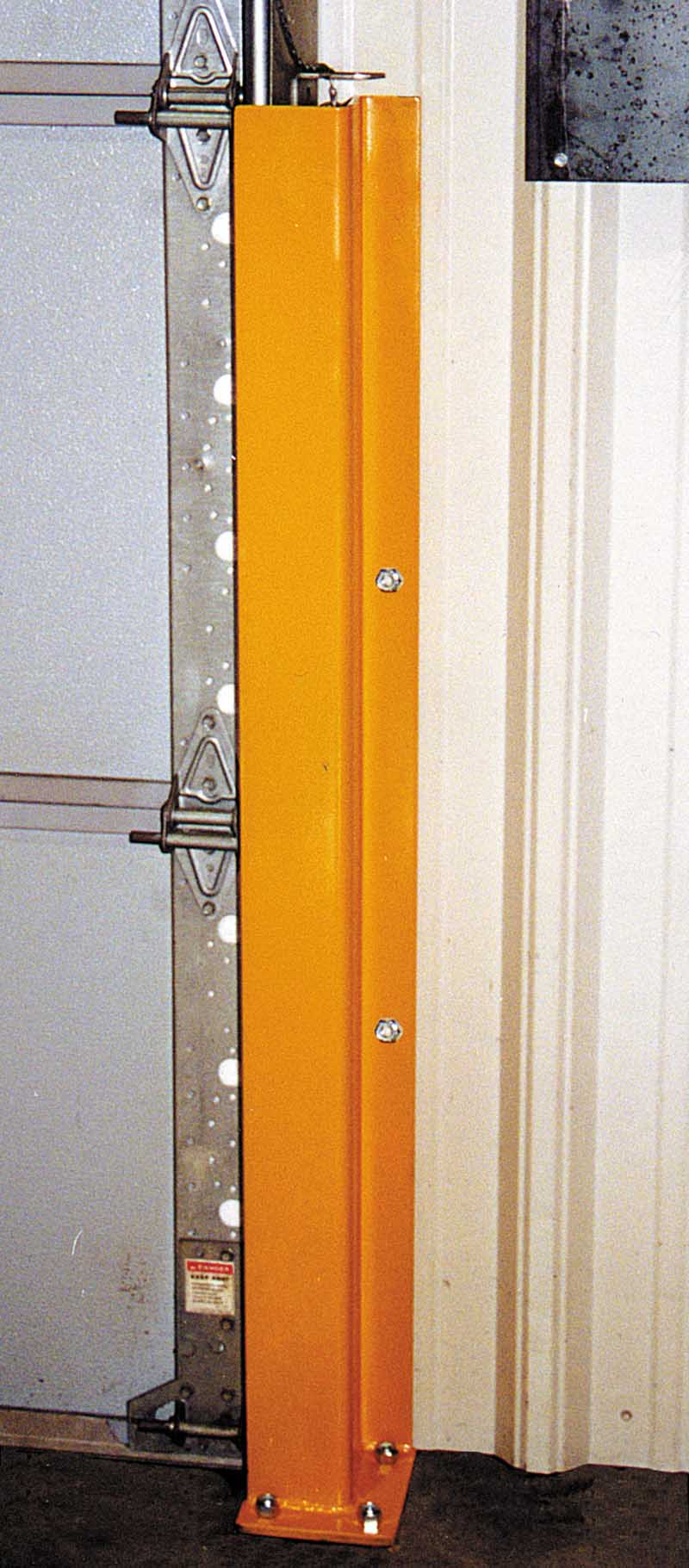 Overhead Door Track Guard