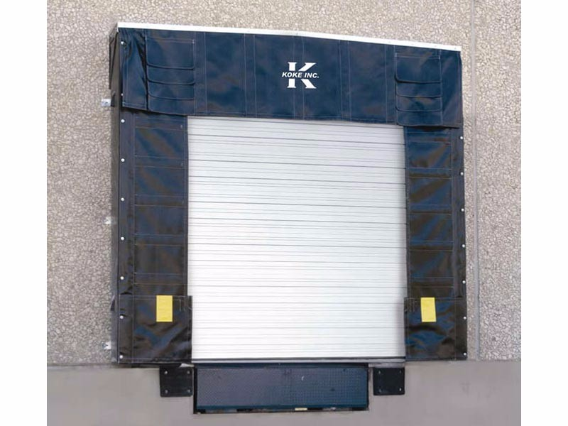220 Series Soft Sided Truck Shelter  sc 1 st  Koke Inc. & Loading Dock Door Seals | 220 Series Soft Sided Truck Shelter