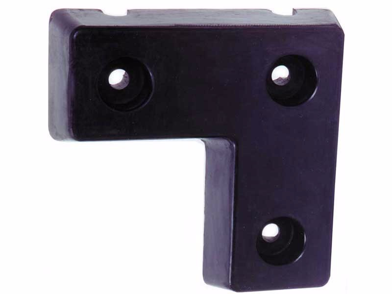 Rectangular Molded Rubber Bumper