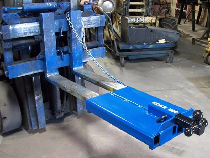 Fork Mounted Trailer Mover
