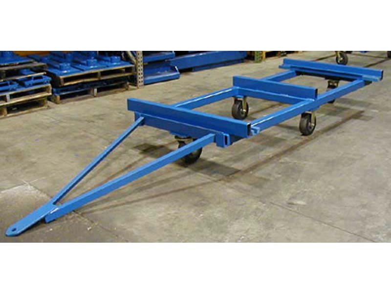 Trailer Hitch Ball Sizes >> Fork Mounted Trailer Movers | Attachment Accommodates All Hitch Sizes