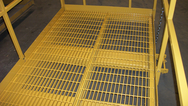 Basket Floor Grating