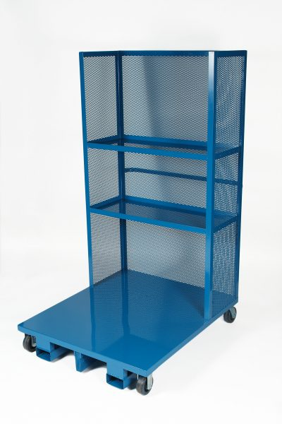 2 shelves and casters