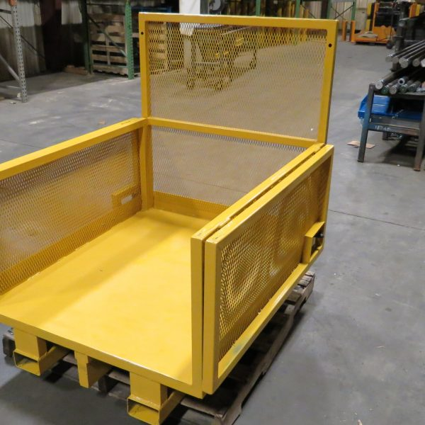 Folding Sides Platform