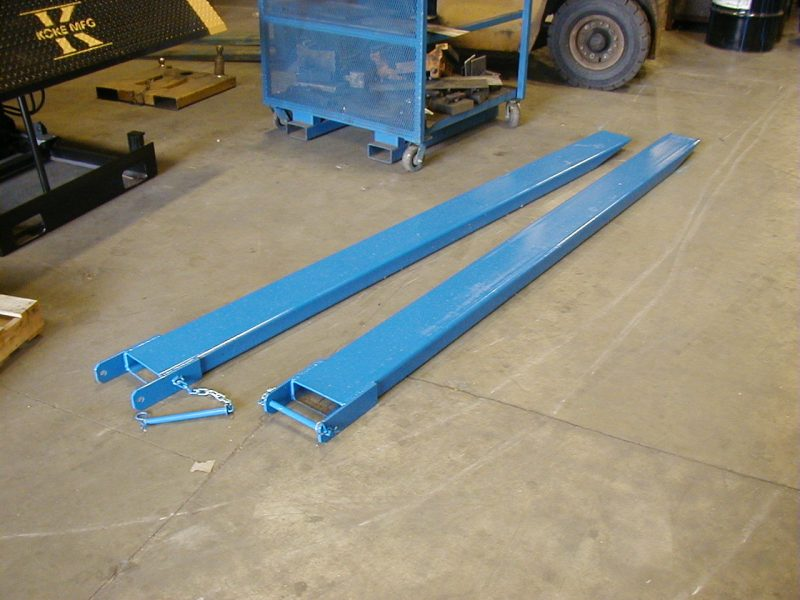 Fork Lift Extensions : Forklift fork extensions by koke inc