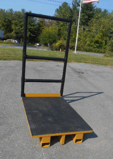 Rubber Decked Platform