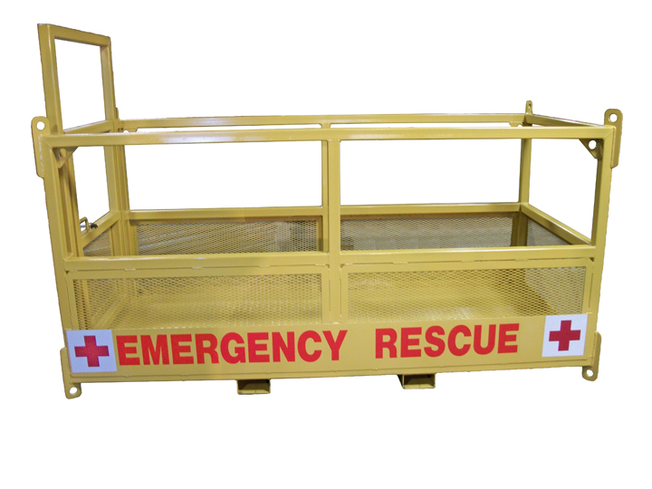 Hospital Rescue Basket Used As A Rescue Basket Stretcher