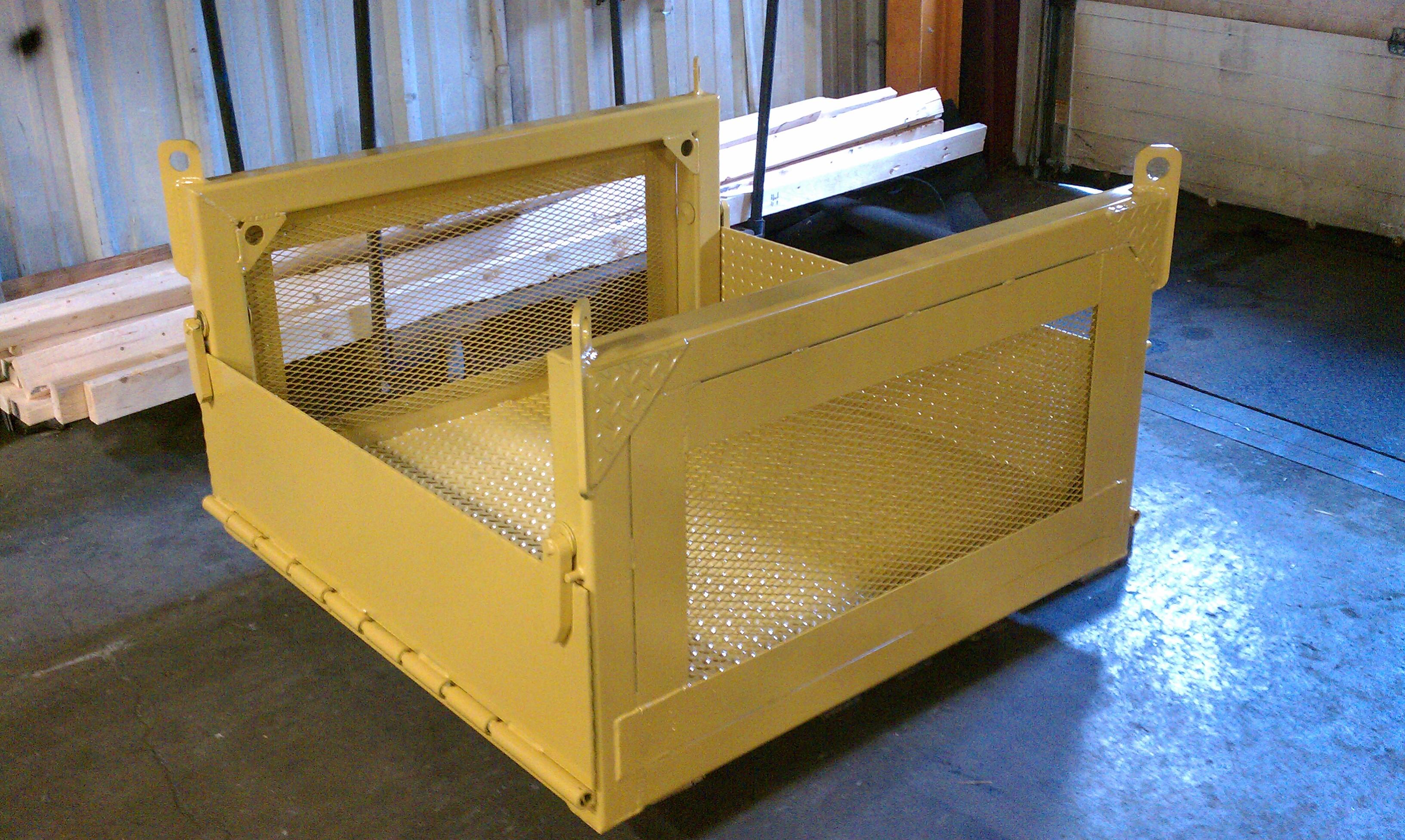 Material Crane Basket