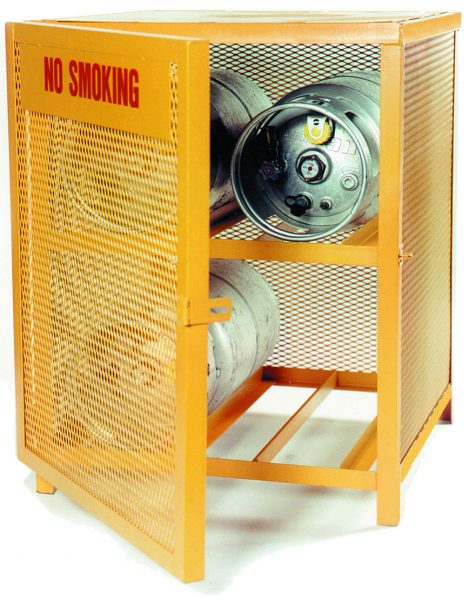 gas cage cylinder