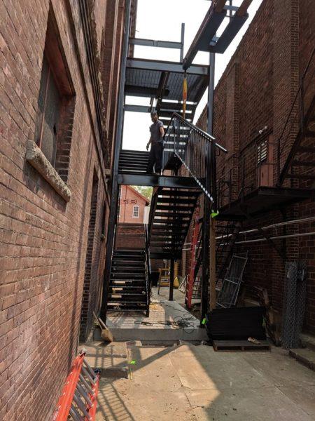 Koke stairwell