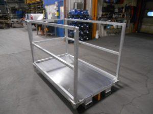 Aluminum with 3 rails